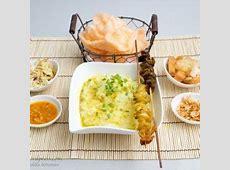 bubur ayam (indonesian chicken porridge)   indonesian food
