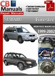 Subaru Forester 1999 2002 Service Repair Manual Ebooks