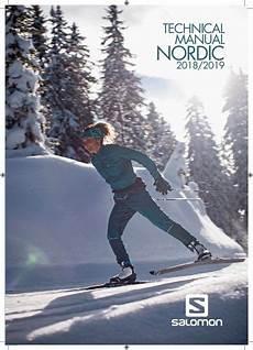 Salomon Nordic Weight Chart Salomon Nordic Tech Manual 2018 19 By Salomon Issuu