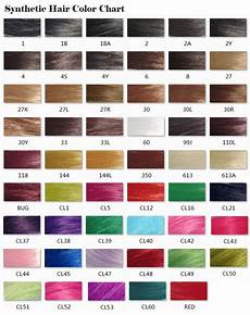 Synthetic Oil Color Chart Synthetic Hair Color Chart