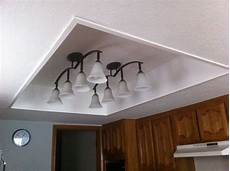 Converting Fluorescent Kitchen Lights Remove Old Framed Light Panel With Fluorescent Lights