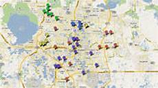 Red Light Camera Orlando Map Interactive Map Red Light Cameras In Central Florida