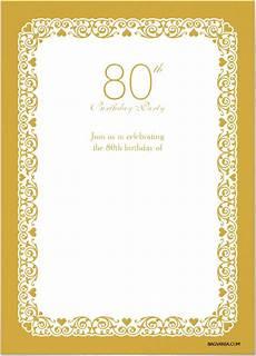 Free Postcard Invitation Templates Printable Free Printable 80 Birthday Invitations Templates