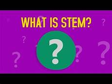 What Are Stem Degrees What Is Stem Youtube