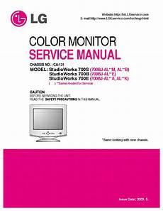 Lg Studioworks 700e B S Chassis Ca 131 Service Manual