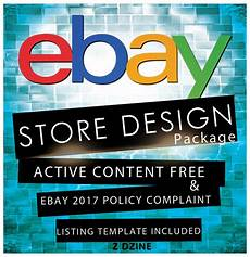 Designs Ebay Ebay Store Design Amp Auction Listing Template Professional