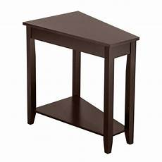 zimtown 2 tier wood end table sofa side coffee