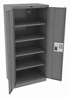 tennsco commercial storage cabinet medium gray 78 quot h x