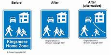 Home Zone Signage Improvements Pedestrian Zones Home Zones And