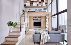 Contemporary Bedroom Design Small Space Loft Bed Couple 4 Great Loft Ideas Learn How To Maximise Vertical Space