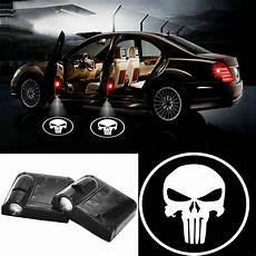 Door Logo Lights 2019 Punisher Universal Wireless Car Projection Led