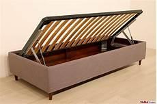 contenitori da letto letto con contenitore singolo senza testata anche su misura