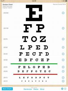 Free Printable Eye Chart Vision Test Eye Chart Pro Test Vision And Visual Acuity Better With