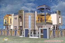 Floor Plans For Houses In India Luxury Indian Home Design With House Plan 4200 Sq Ft