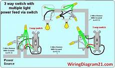 3 Way Switch Wiring Multiple Lights 3 Way Switch Wiring Diagram House Electrical Wiring Diagram