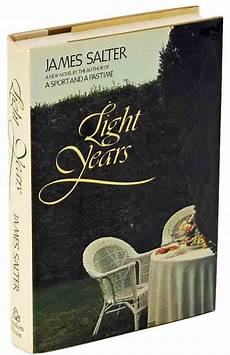 Light Years James Salter Light Years By James Salter Book Cover Light Year James