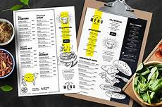Food Menu Template A4 Food Menu Templates For Restaurants In Psd Ai Amp Vector