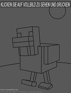 minecraft 10 ausmalbild