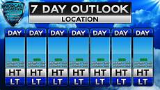 5 Day Weather Chart Blank 5 Day Forecast Template Calendar June
