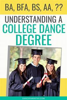 University Degrees Explained College And University Dance And Ballet Degrees Explained