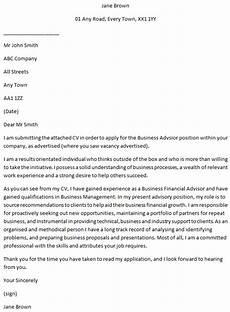 Advisor Cover Letter Business Advisor Covering Letter Example Learnist Org