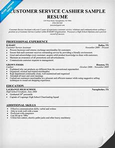 What Does A Cashier Do Resume Resume Customer Service And Resume Examples On Pinterest