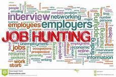 Job Hunting Wordcloud Of Job Hunting Royalty Free Stock Photo Image