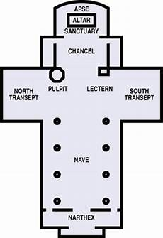 Floor Plan Of Cathedral Floor Plans Congregational Church