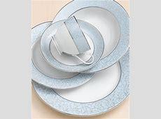 "Mikasa ""Parchment Blue"" Dinnerware Collection   Fine China"