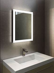 Bathroom Over Mirror Led Lights Led Illuminated Bathroom Mirror With Sensor Shaver And
