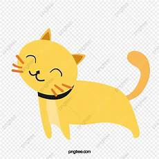 gatto clipart lazy cat cat clipart yellow png transparent