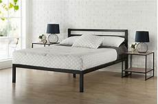 zinus modern studio 14 inch platform 3000h metal bed frame