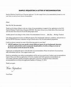 Request A Recommendation Letter Free 11 Sample Recommendation Letter Templates In Pdf