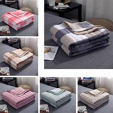 washable thin summer quilts cotton blanket home coverlet