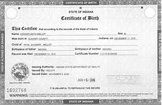 Sample Birth Certificate Pdf 5 Birth Certificate Templates Excel Pdf Formats