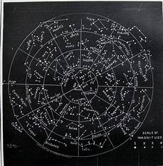 Astronomical Chart Of Stars And Planets Antique Stars And Constellations Chart 1886 By Plaindealing