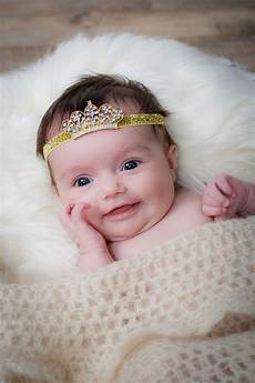 Bady Girl Such A Cute Smile From This Newborn Baby Girl On Her 1st