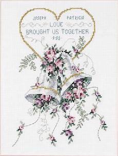 Free Wedding Cross Stitch Patterns Charts Free Butterfly Cross Stitch Patterns Free Counted Cross