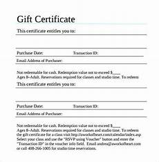 Gift Certificate Letter Template Gift Certificate Template 42 Examples In Pdf Word In