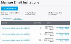 Invitations By Email How To Create And Send Email Invitations For Your Event