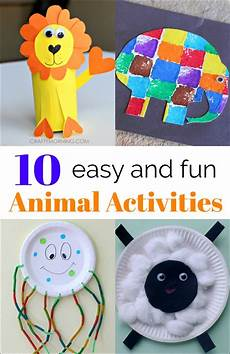 10 simple animal activities from the weekly co op