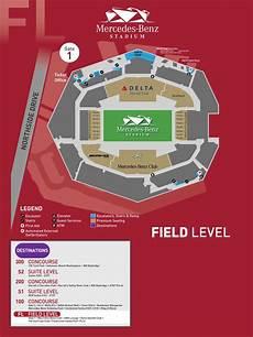 Mercedes Benz Stadium In Atlanta Seating Chart Field Level Mercedes Benz Stadium