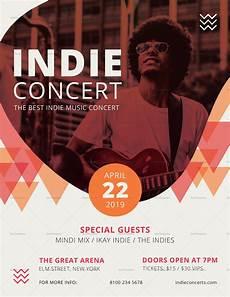 Free Concert Flyer Templates Indie Concert Flyer Design Template In Psd Word