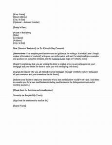 Sample Of Hardship Letter For Loan Modification Download The Hardship Letter From Vertex42 Com Letter