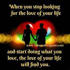 What Are You Looking For In Terms Of Career Development When You Stop Looking For The Love Of Your Life