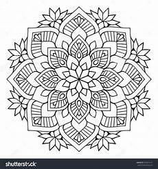 flower mandalas vintage decorative elements