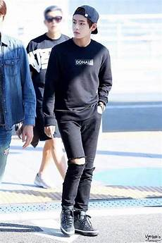 resultado de imagen para jungkook airport fashion ropa