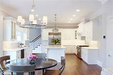 Coordinating Lighting Design Dilemma Coordinating Kitchen Island And Breakfast