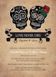 Sample Halloween Invitations Printable Halloween Wedding Invitations Ideas And Inspiration