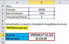 Formula To Amortize A Loan Amortization Table Calculator Accounting Brokeasshome Com